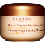 SPF 15  Delectable Self Tanning Mousse Clarins