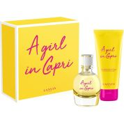 A Girl in Capri Coffret Parfum Lanvin