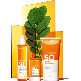 UVA/UVB SPF50 Gel-en-Huile Solaire Corps Clarins