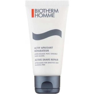 Aftershave for Sensitive Skin Active Shave Repair Biotherm Homme