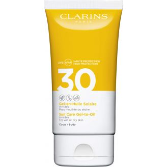 UVA/UVB SPF30 Gel-en-Huile Solaire Corps Clarins