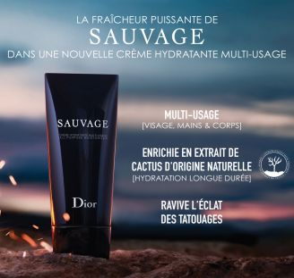 Crème Hydratante Multi-Usage Sauvage DIOR