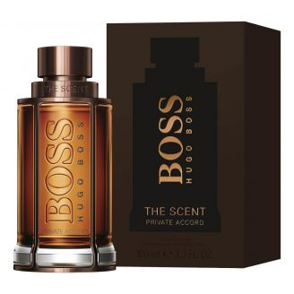 Eau de Toilette The Scent for Him Private Accord Hugo Boss