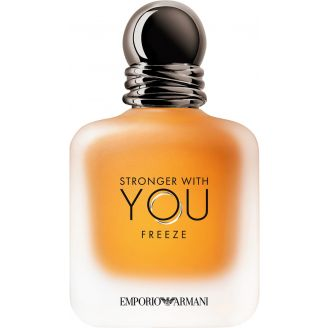 Eau de Toilette Stronger with You Freeze Armani