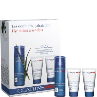 Gel Super Hydratant Coffret Soins Experts Revitalisants ClarinsMen