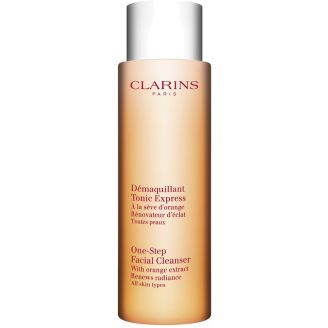 With Orange Extract One-Step Facial Cleanser Clarins
