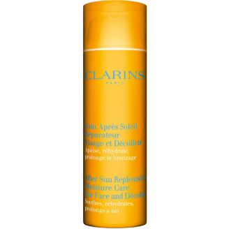 Face and Décolleté After Sun Replenishing Moisture Care Clarins