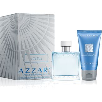 Chrome Coffret Parfum Azzaro