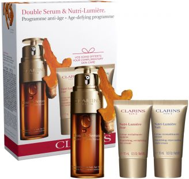 Coffret soin anti-âge visage Coffret Double Serum & Multi-Intensive Clarins