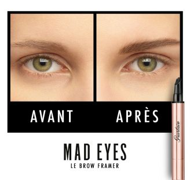 Gel fibres volume naturel sourcils Mad Eyes Guerlain