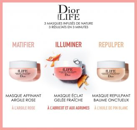 Dior Hydra Life Pores Away - Pink Clay Mask  DIOR