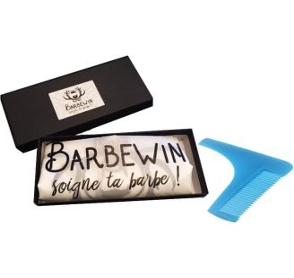 Peigne Traceur Tablier à Barbe Barbewin
