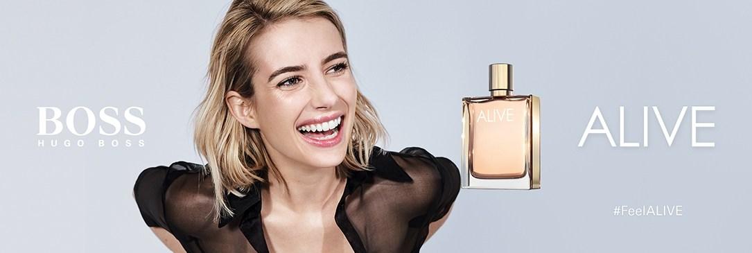 Boss ALIVE, le nouveau parfum femme
