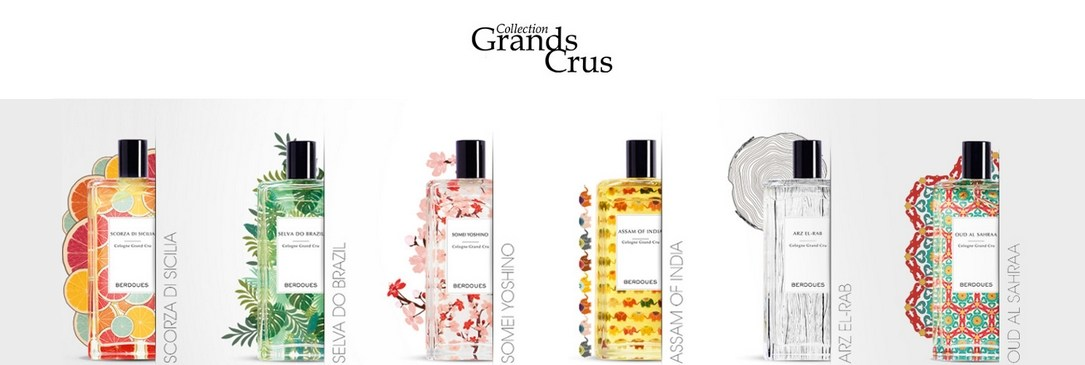 Collection de parfums Grands Crus Berdoues