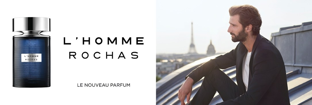 L'Homme ROCHAS, nouveau parfum masculin