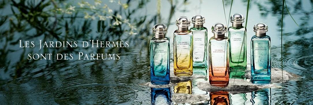 Les Jardins d'Hermès sont des parfums