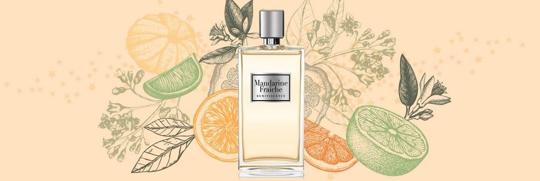 Mandarine Fraîche, nouveau parfum Réminiscence