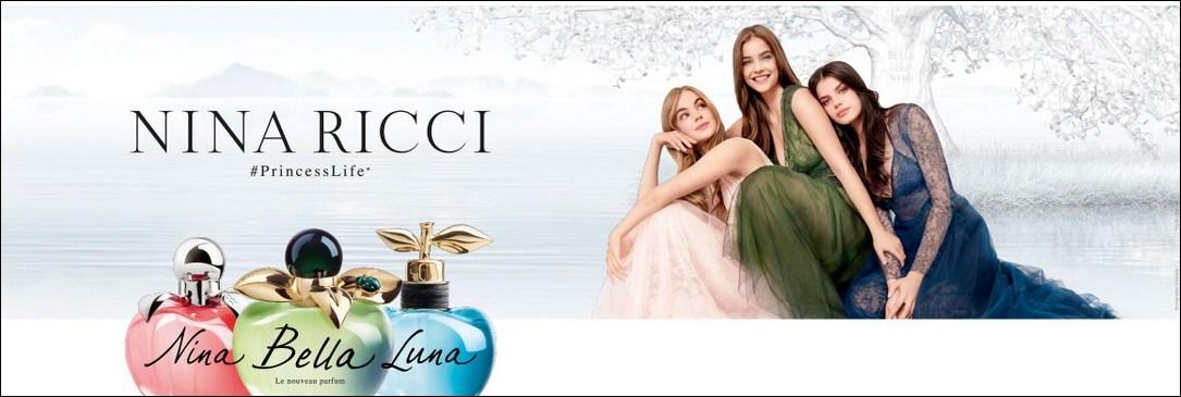 Nina, Bella et Luna, les parfums Nina Ricci