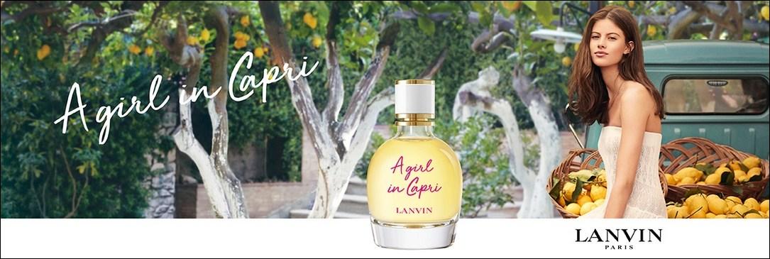 Nouveau parfum A Girl in Capri