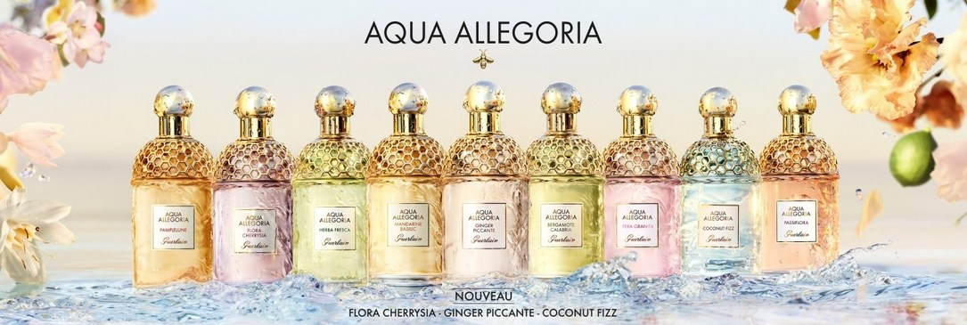 La Collection de parfums Aqua Allegoria