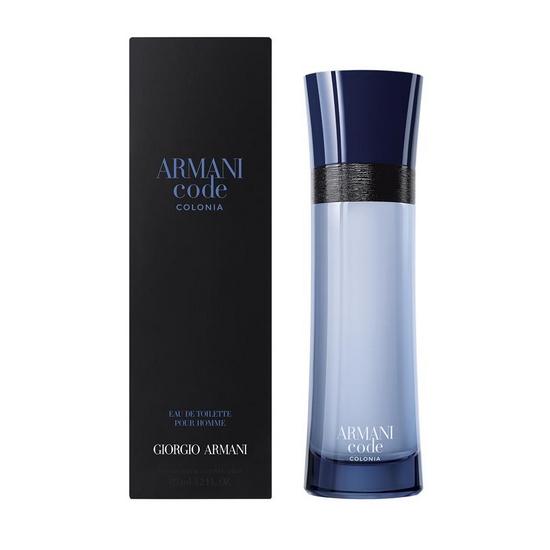 Armani Code Colonia, digne héritier d'une longue collection de parfums