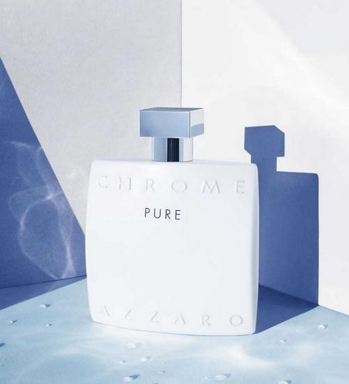 Chrome Pure, toute l'authenticité d'Azzaro revisitée avec modernité