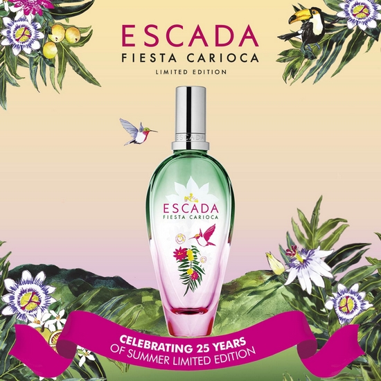 Fiesta Carioca d'Escada, une invitation à la fête au rayon parfumerie