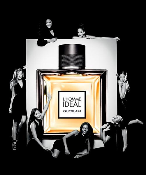 La pub du parfum L'Homme Idéal
