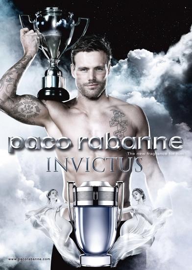 Invictus de Paco Rabanne, plus qu'un flacon, un trophée