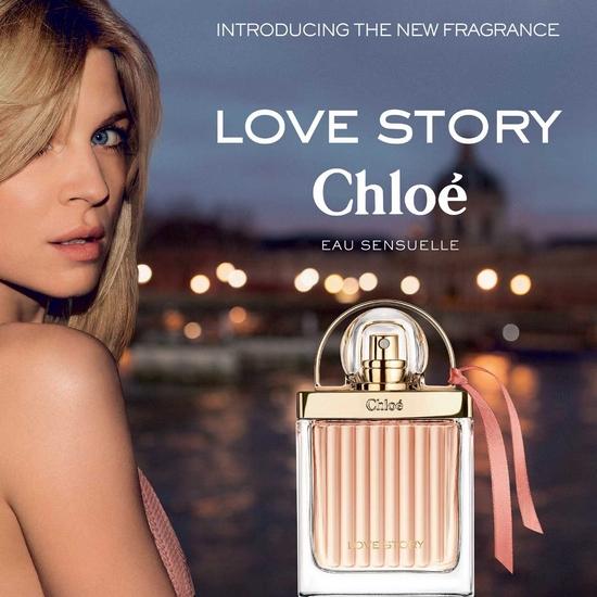 Love Story Eau Sensuelle, deuxième revisite de Chloé