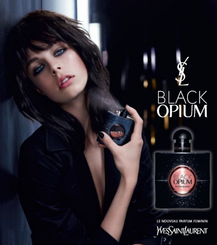 Black Opium pub du parfum